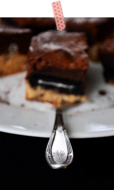 schlampige Brownies